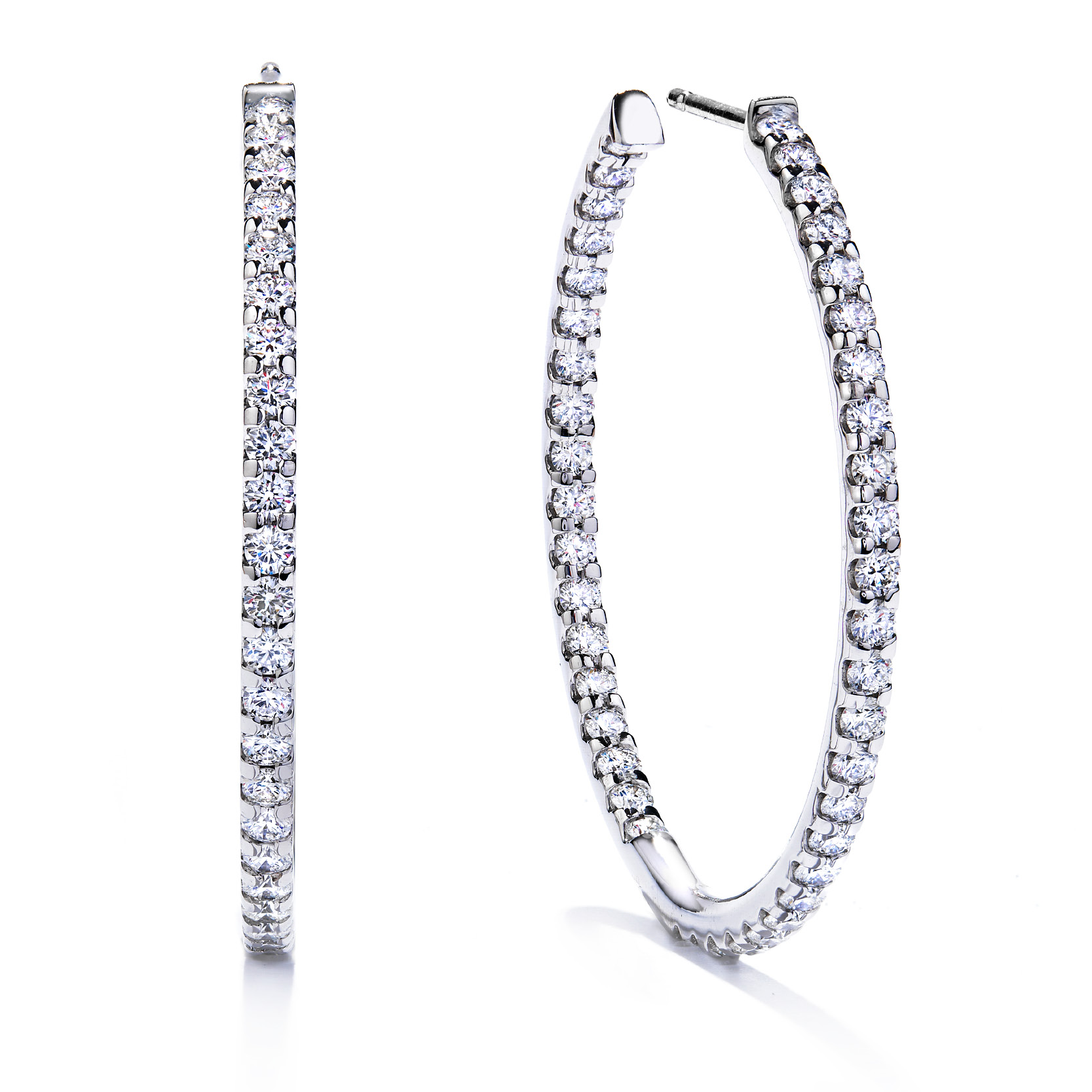 Hearts on Fire - hoops2.jpg - brand name designer jewelry in Mount Joy, Pennsylvania