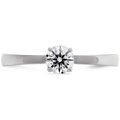 Hearts On Fire Signature Solitaire Engagement Ring With 0.33 Carat Serialized Diamond by Hearts on Fire