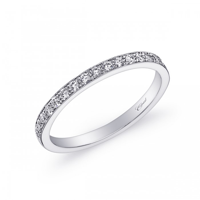Diamond Wedding Band by Coast Diamond