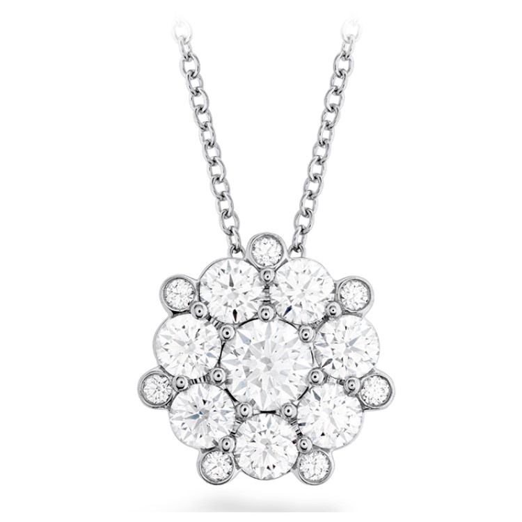 Hearts On Fire Beloved Cluster Diamond Pendant HFPBELVC01458W by Hearts on Fire