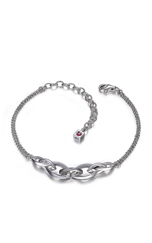 Brands 88 Inc. Elle B0338, Infinity Link Bracelet by Elle Jewelry