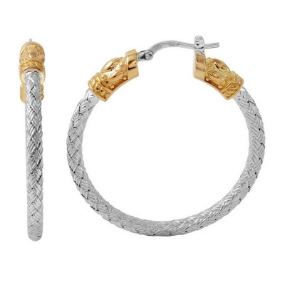 Charles Garnier PME5118YW35, Corsini Hoop Earrings by Charles Garnier Paris