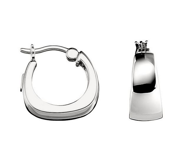 Silver Earrings by Elle Jewelry