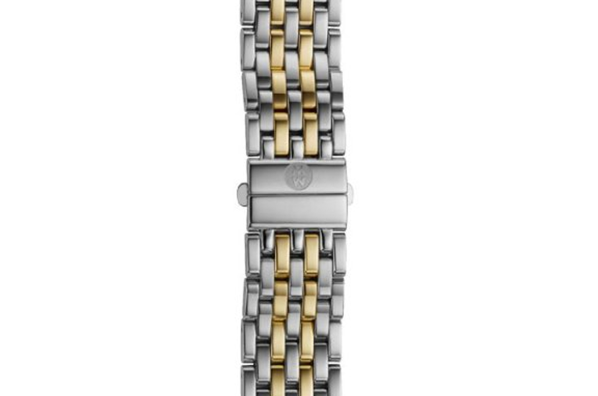 Michele 16 mm Deco Two-Tone Bracelet MS16DM285048, Item 1 by Michele Watch