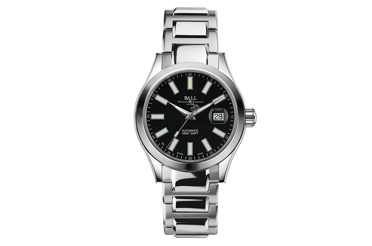 Ball Engineer II Marvelight Black Dial Automatic Men