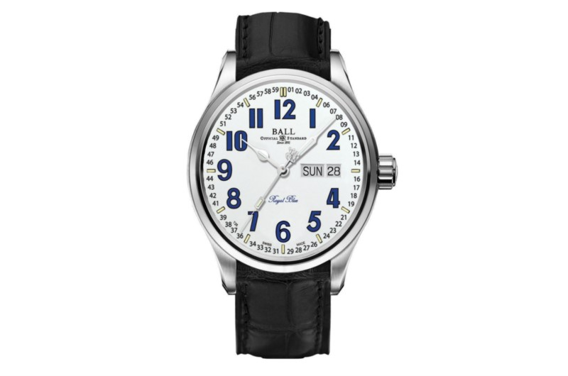 Ball Trainmaster B&O White Dial Men