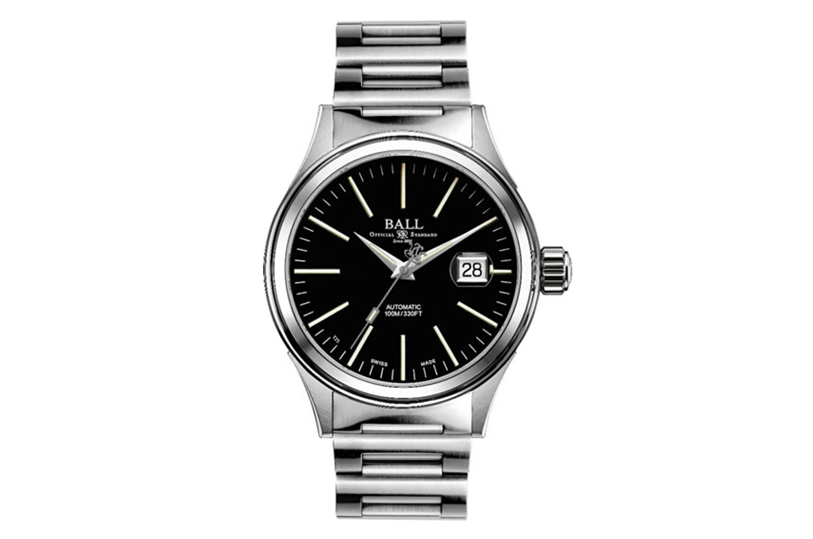 Ball Fireman Enterprise Black Dial Men
