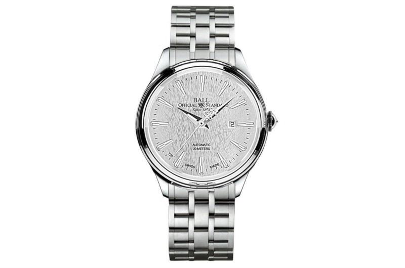 Ball Trainmaster Eternity Silver Dial Men