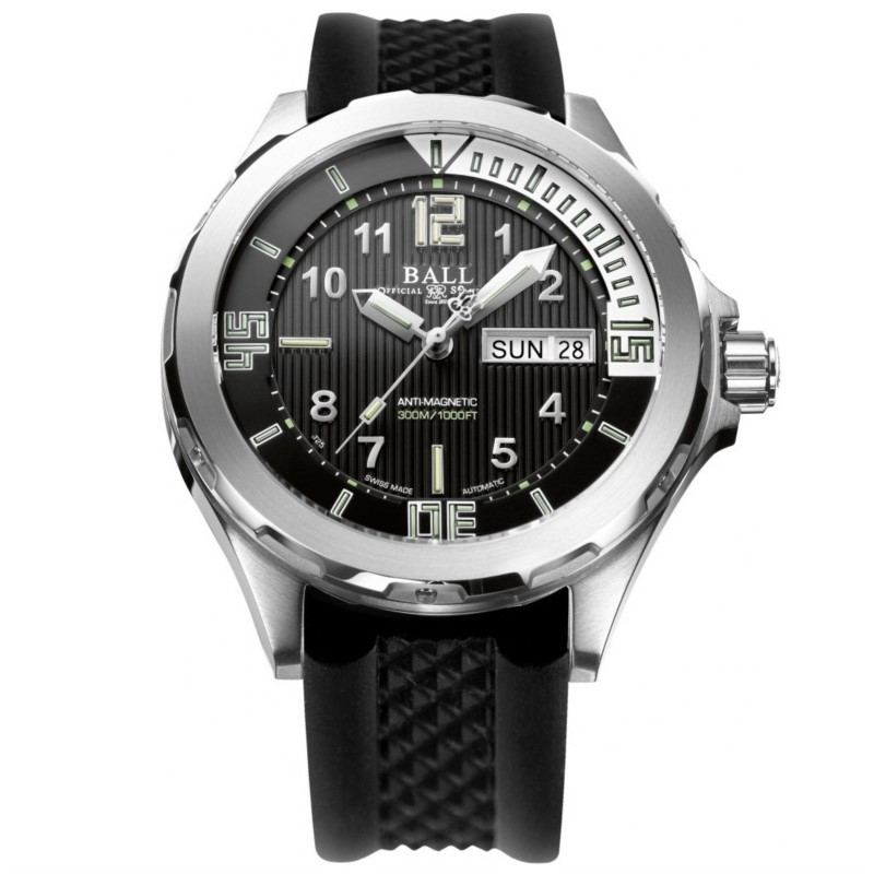 Ball Engineer Master II Diver Pro Black Dial Men