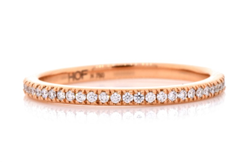 Diamond Wedding Band by Hearts on Fire