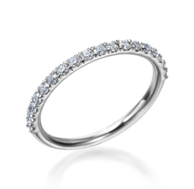 Platinum Hearts on Fire Transcend Wedding Band With 0.33 Total Diamond Weight by Hearts on Fire