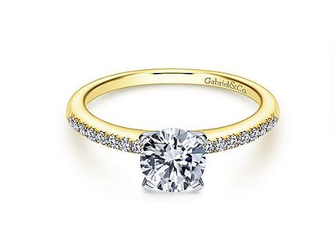 Engagement Ring Mounting by Gabriel & Co